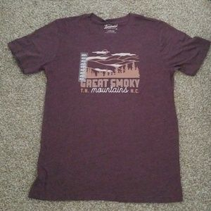 NWT The Landmark Project Great Smoky Mtns Tee